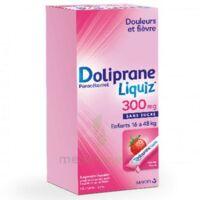 Dolipraneliquiz 300 mg Suspension buvable en sachet sans sucre édulcorée au maltitol liquide et au sorbitol B/12 à Bassens