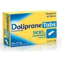 DOLIPRANETABS 500 mg Comprimés pelliculés Plq/16 à Bassens