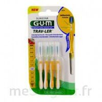 GUM TRAV - LER, 1,3 mm, manche jaune , blister 4 à Bassens