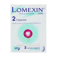 LOMEXIN 600 mg Caps molle vaginale Plq/2 à Bassens