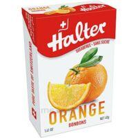 Halter Bonbon sans sucre orange 40g à Bassens