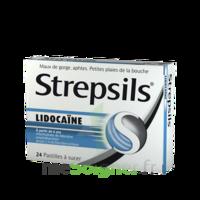 Strepsils lidocaïne Pastilles Plq/24 à Bassens
