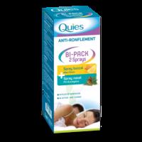 Quies Bi-pack 2 Sprays Buccal Et Nasale Anti-ronflement à Bassens