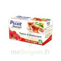 Picot Maman Tisane D'allaitement Fruits Rouges 20 Sachets à Bassens