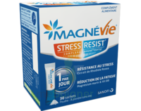 Magnevie Stress Resist Poudre orale B/30 Sticks à Bassens