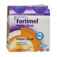 Fortimel Protein Nutriment caramel 4 Bouteilles/200ml à Bassens