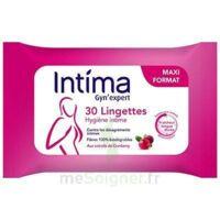 Intima Gyn'Expert Lingettes Cranberry Paquet/30 à Bassens