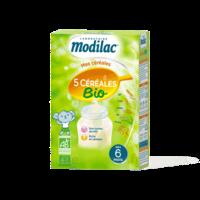 Modilac Céréales Farine 5 Céréales bio à partir de 6 mois B/230g à Bassens