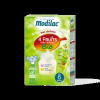 Modilac Céréales Farine 4 Fruits quinoa bio à partir de 6 mois B/230g à Bassens