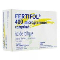 FERTIFOL 400 µg Cpr Plq/90 à Bassens