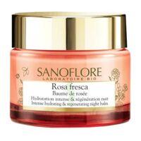 Sanoflore Rosa Fresca Baume de rosée nuit Pot/50ml à Bassens