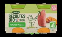 Blédina Les Récoltes Bio Patates Douces 2 Pots/130g à Bassens
