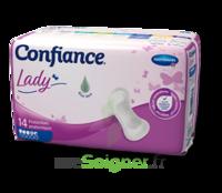 Confiance Lady Protection anatomique incontinence 4 gouttes Sachet/14 à Bassens
