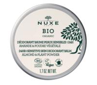 Nuxe Bio Déodorant Baume Fraîcheur 24h Peaux Sensibles Pot/50g à Bassens