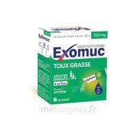 EXOMUC 200 mg granulés usage oral en sachet 15 Sachets/2g à Bassens