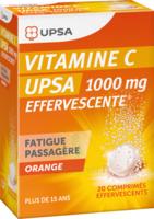 Vitamine C Upsa Effervescente 1000 Mg, Comprimé Effervescent à Bassens
