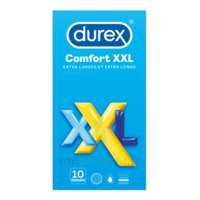 Durex Comfort Xxl Préservatif Lubrifié B/10 à Bassens